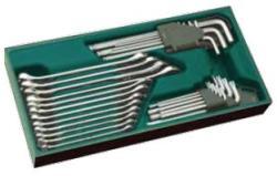 набір ріжково-накидних ключів