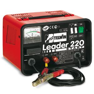 Зарядно-пусковий пристрій LEADER 220 START