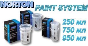 багаторазовий мірний стакан NORTON PAINT SYSTEM