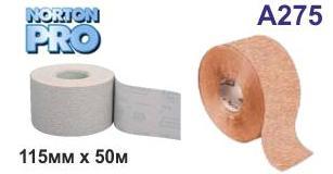 Абразивний папір в рулоні NORTON Pro A275