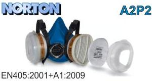 Респіраторна малярна маска NORTON