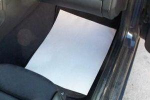 защитный коврик для пола автомобиля