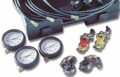 Тестер тиску пневматичних гальмівних систем