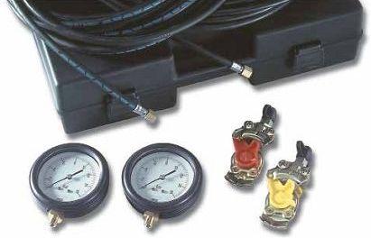 Тестер давления пневматических тормозных систем