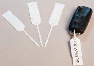 Бирки для ключей бумажные