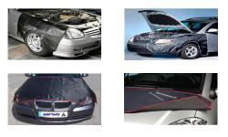 Захисні накидки для кузову автомобіля